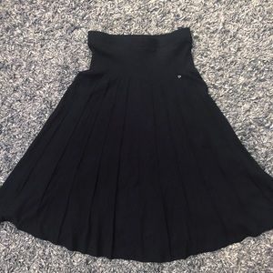 Lapierre & Marchands LUCIA knit pleated skirt